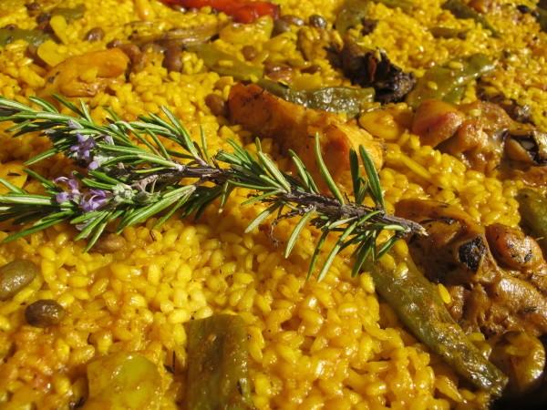 receta paella valenciana original