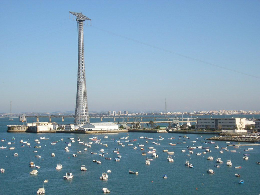 Cadiz vista desde la torre puntales